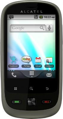 Смартфон Alcatel ONE TOUCH 890D (серый)