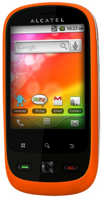 Смартфон Alcatel ONE TOUCH 890D (оранжевый)